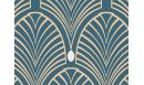 GATSBY BLEU 80 CM Papiers peints adhésifs - Le Grand Cirque